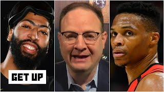 Woj on Anthony Davis finalizing 5-year deal with Lakers & breaks down Rockets-Wizards trade   Get Up
