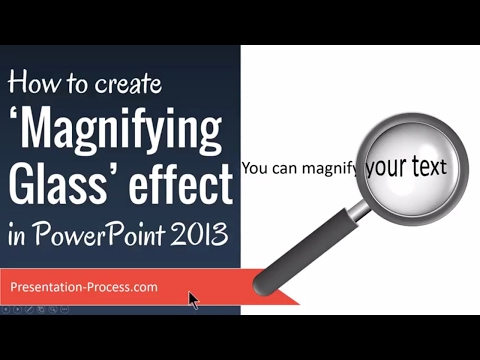 How To Create Magnifying Glass Effect In PowerPoint