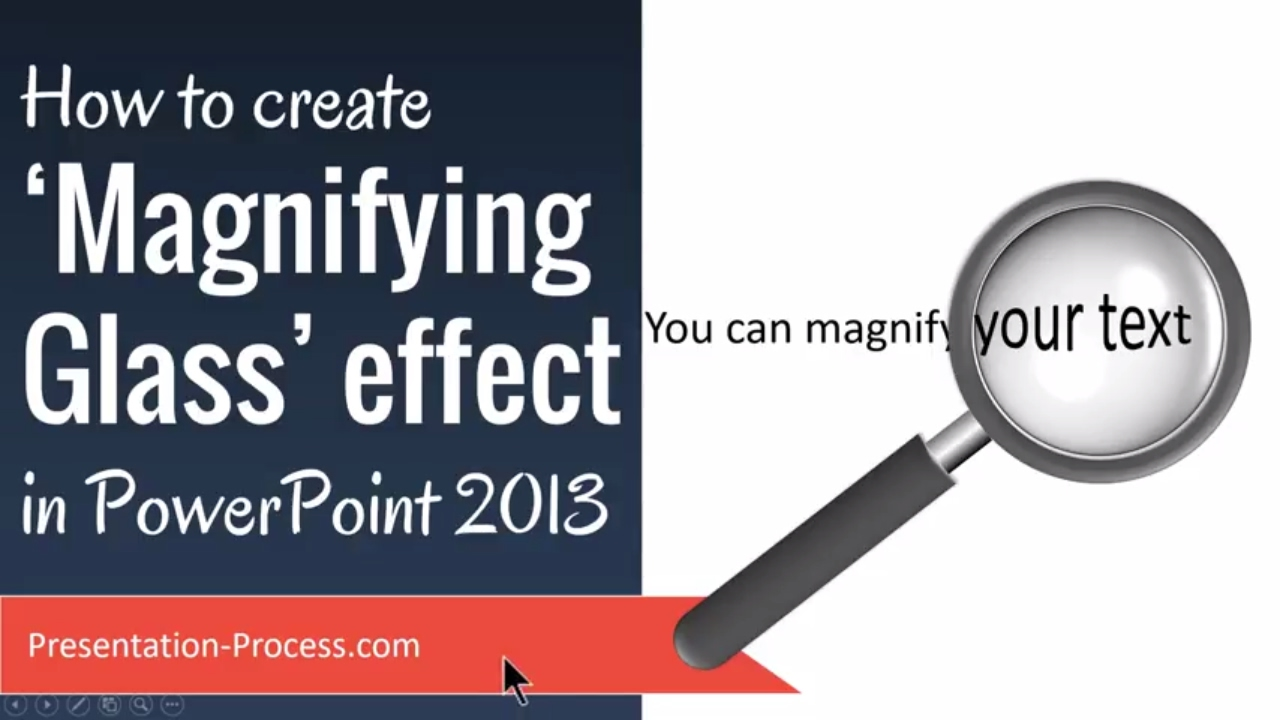 Create Magnifying Glass Effect in PowerPoint