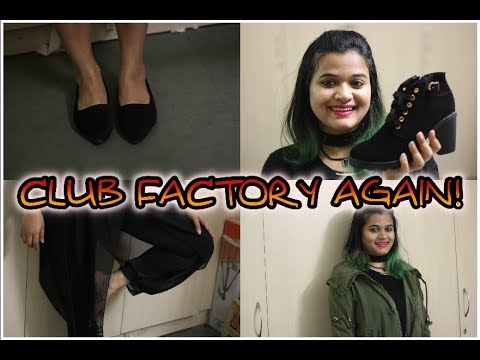 Club Factory Fashion Haul & Review - Online Shopping In India
