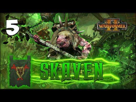 THE RITUAL OF DARK SCRYING! Total War: Warhammer 2 - Skaven Campaign - Lord Skrolk #5