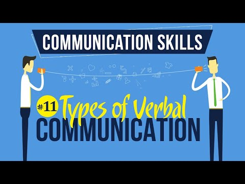 Types Of Verbal Communication - Introduction To Communication Skills - Communication Skills