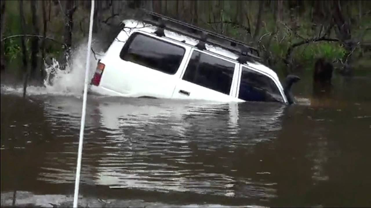 The Most Spectacular River Crossing By Car 4x4 Off Road