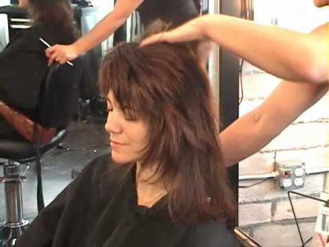Rocker Shag Dry Razor Hair Cutting