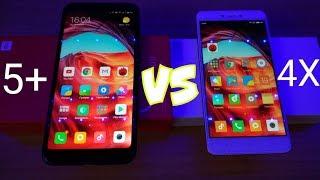 Xiaomi Redmi 5 Plus vs Xiaomi Redmi Note 4x СРАВНЕНИЕ ДВУХ ХИТОВ!