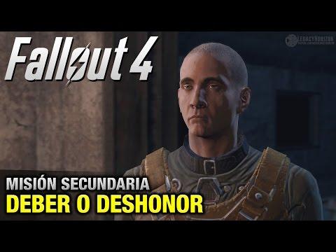 Fallout 4 - Misión Secundaria - Deber o Deshonor (1080p 60fps)