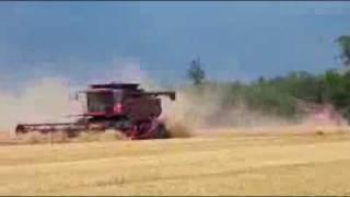Żniwa w Stanach Zjednoczonych - Piękne Maszyny - Rolnictwo to duży interes w USA