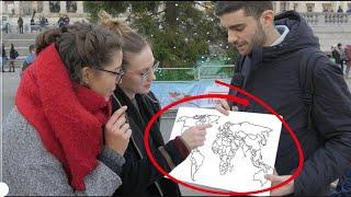 Gli STRANIERI sanno dov'é l'ITALIA ? Domande a Londra - thepillow