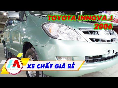 Rẻ mà chất - Toyota INNOVA J 2006 số sàn cực chất có giá hợp lý   Siêu thị ô tô Hùng Anh