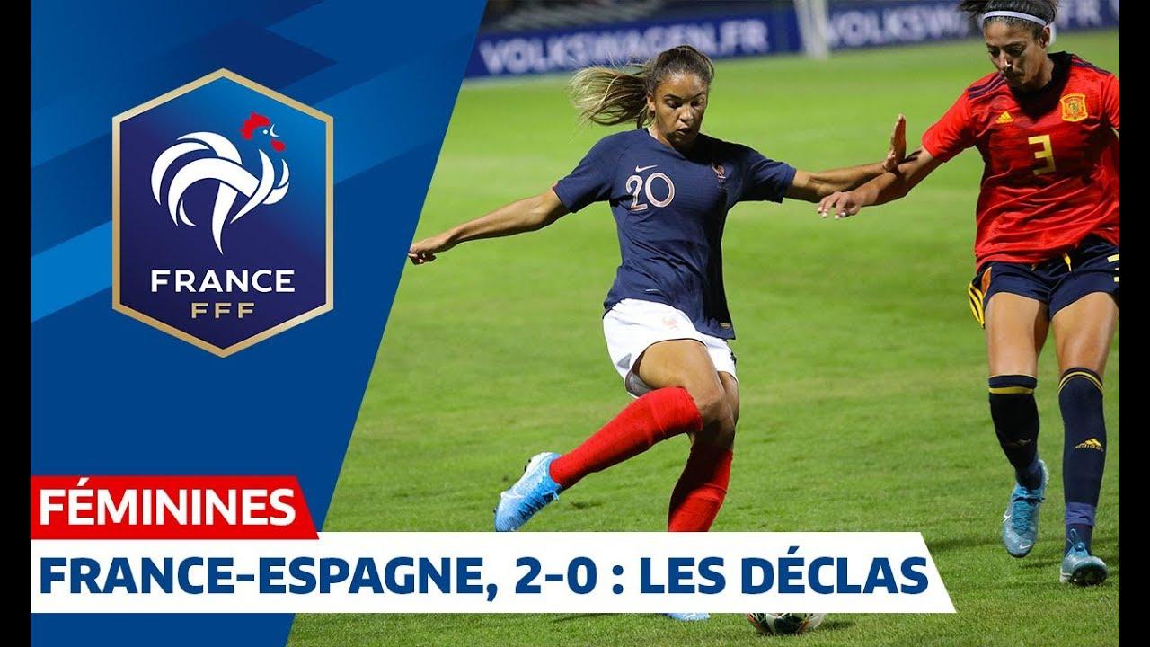 France Espagne Féminines (2-0) : premières réactions I FFF 2019 #1