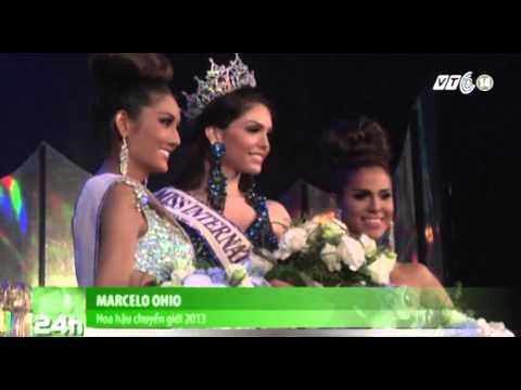 VTC14_Người đẹp Brazil đăng quang hoa hậu chuyển giới