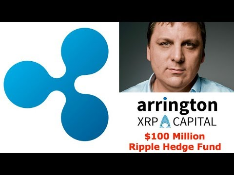 TechCrunch Founder Michael Arrington starting a $100 Million Ripple Hedge Fund that only accepts XRP