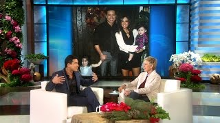 Mario Lopez on His Growing Family