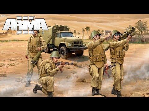 Afghan Missile Attack - ARMA 3 Gameplay - Soviet-Afghan War