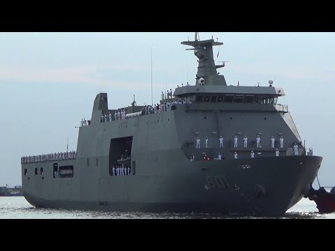 PH Navy welcomes its biggest vessel to date