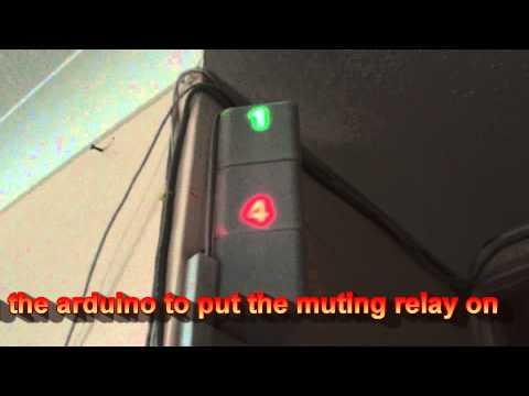 speaker mute via door switch (to stop noise nuisance)