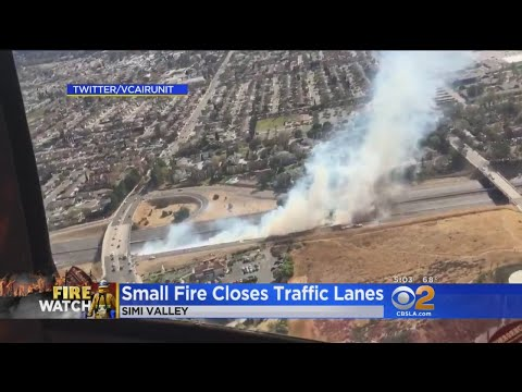 Small Brush Fire Closes 118 Freeway