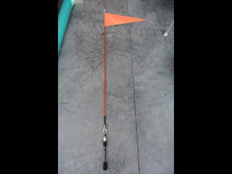 DIY Inexpensive Safety Flag and Accessory Pole