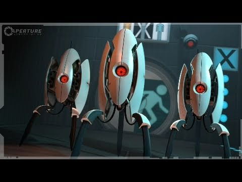 portal 2 investment opportunity 3 turrets trailer 2011 official full hd youtube. Black Bedroom Furniture Sets. Home Design Ideas