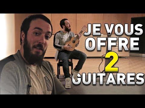 je-vous-offre-2-guitares-!-concours
