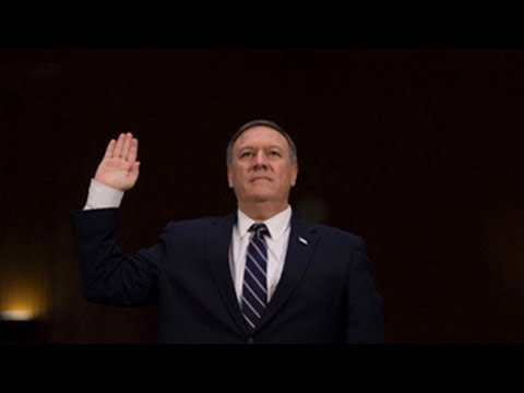 "03/14/2018: Tillerson out, ""yes man"" Pompeo in 