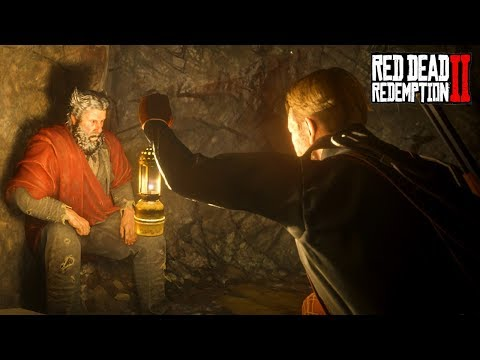 Capturing The Devil Cave Hermit! What Is He Hiding Red Dead Redemption 2 Secrets [RDR2]