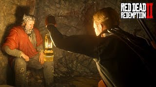 Capturing The Devil Cave Hermit! What Is He Hiding Red Dead Redemption 2 Secrets [RDR2] thumbnail