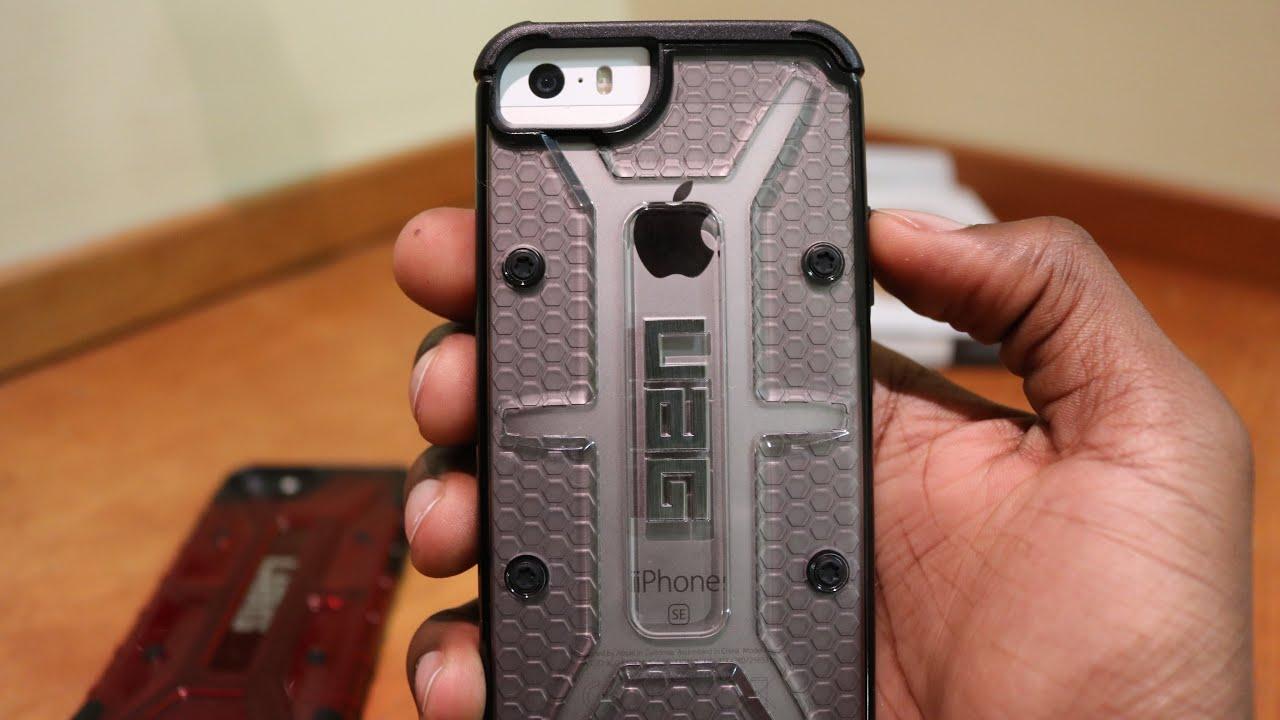 the best attitude 6eb15 7a43d Review: UAG Plasma iPhone SE/5S