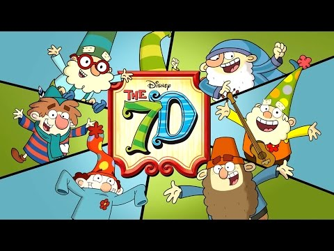 The 7D: Extended Theme Song | Comic-Con 2016 | Disney XD