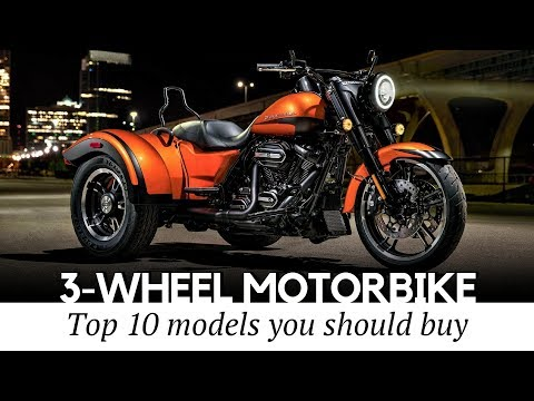 Top 10 Trikes and 3-Wheel Motorcycles that Define Supreme Riding Comfort