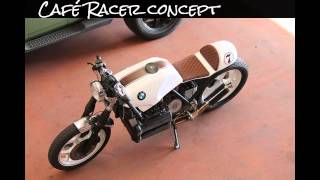 Art on Wheels Bmw K100 Café Racer