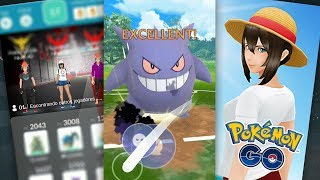 ONE PIECE NO POKÉMON GO E EXCELENTE DURANTE O ATAQUE?! | Pokémon GO