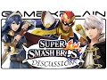 Robin, Lucina, & Captain Falcon in Super Smash Bros Discussion - Thoughts & Ideas (Wii U & 3DS)