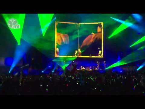 Afroki Afrojack & Steve Aoki   at TomorrowWorld 28092013