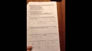 Sch3U Grade 11 Chemistry Exam Review