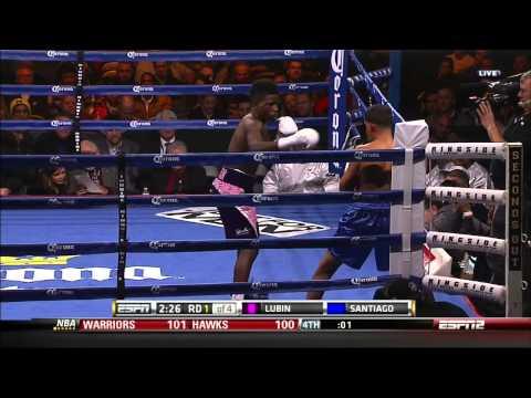 Erickson Lubin vs Luis Santiago