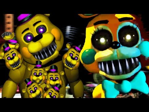 NEW NIGHTMARE TOY ANIMATRONICS ATTACK! || One Night With Your Nightmare (Five Nights at Freddys)