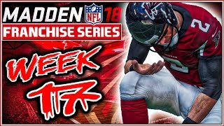 Madden 18 Franchise Mode Week 17 - Atlanta Falcons vs Carolina Panthers 2017 Video