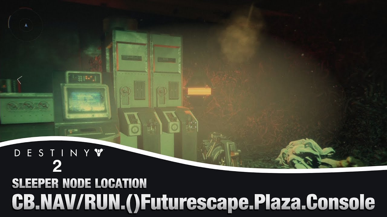 Location Console Destiny 2 Futurescape Plaza Console Sleeper Node Location Override Frequency Cache