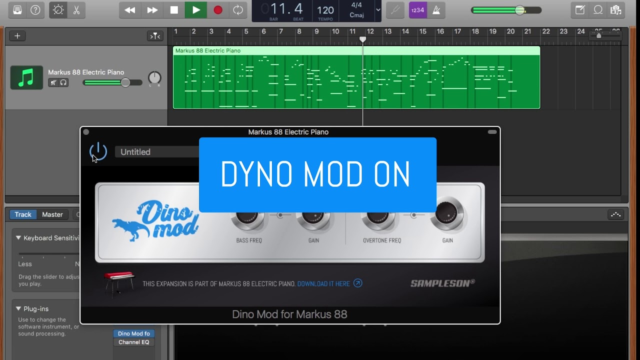 DynoMod Audio FX Plugin  Free Dyno Effect for Rhodes VST