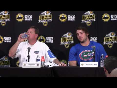 2016 Buffalo Wild Wings Citrus Bowl: Florida Postgame Press Conference