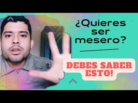 """5 Tips """"No Convencionales"""" Para Ser Un Mejor Mesero"""