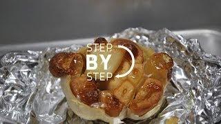 Roasting Garlic, Roasted Garlic Recipe, Roast Garlic Recipe, How To Roast Garlic