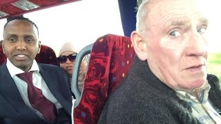 Birmingham Coach Heading to #CitizensUK General Election Westminster Hall #CUKMAY4 + Event Photos