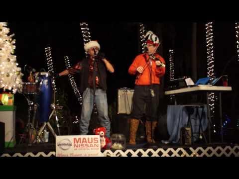 Festival of Lights Homosassa Florida featuring Coconut Johnny Beserra