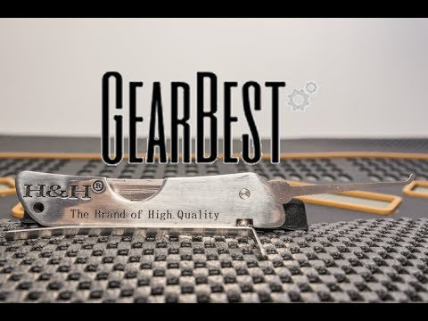 [231] GearBest HH Jackknife Lock Pick Set Review