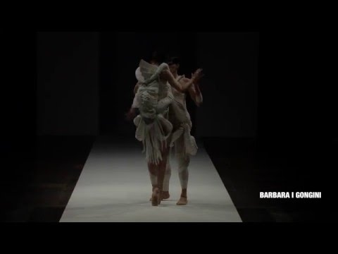 BARBARA I GONGINI FASHION SHOW : collection 7 & 24 / AW16