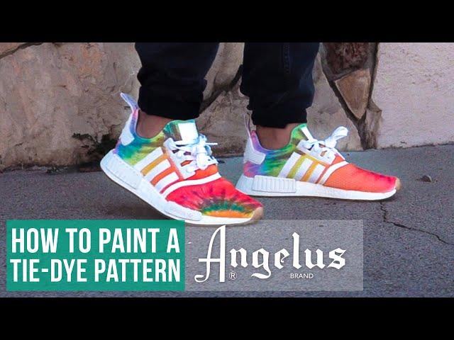 How to Paint a Tie Dye Pattern | Nice Kicks x Adidas