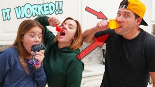 WE MAKE OUR OWN VIRAL TIK TOK JELLY CANDIES!!!
