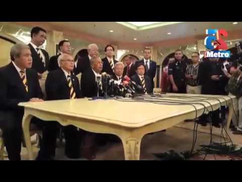 Sidang media pembubaran Dewan Undangan Negeri Sarawak